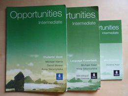 Opportunities - Intermediate. Komplet książek do nauki j. angielskiego