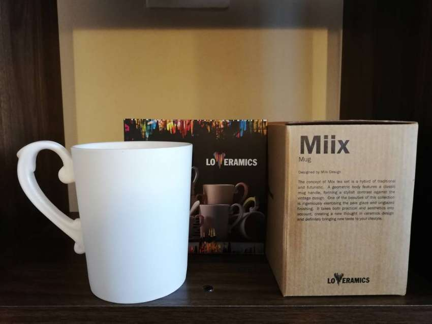 Loveramics Miix Mugs, Cup with saucers and espresso cups with saucers 0