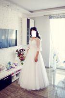 piękna suknia ślubna - księżniczka