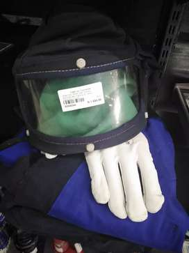High voltage switch suit helmet is jacket and pants gloves