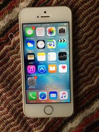 Image of iPHONE 5S 16Gb,WiFi, in PRISTINE CONDITION, Original Box and Charger