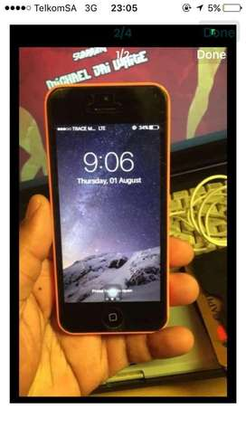 iPhone 5c stil in a good condition
