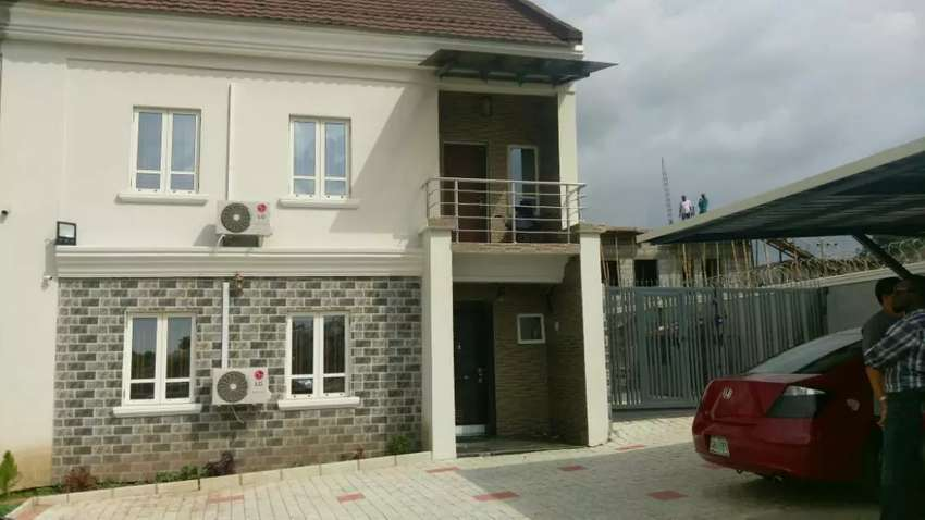 A 4 bedroom duplex with BQ for sale in Gudu District, Abuja. 0