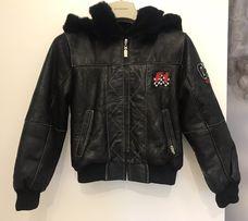 Куртка демисезонная меховая теплая на мальчика 5-6 лет Begonya Италия