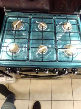 Brand new 6 plate gas stove