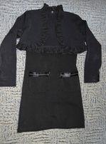 Школьная форма(платье,юбка,болеро) р.140