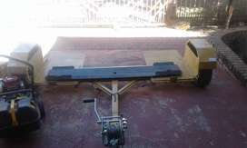 Mobi jack with hand winch
