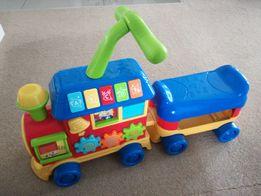 Smily play lokomotywa 3w1 jezdzik