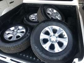 Brand new Toyo Tyres and wheels