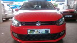 2014 VW Polo 6 1.4 engine Capacity ( TSi ) with Manuel Transmission