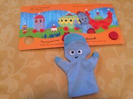 Развивающая книга английский язык звуковая ,перчатка кукольного театра