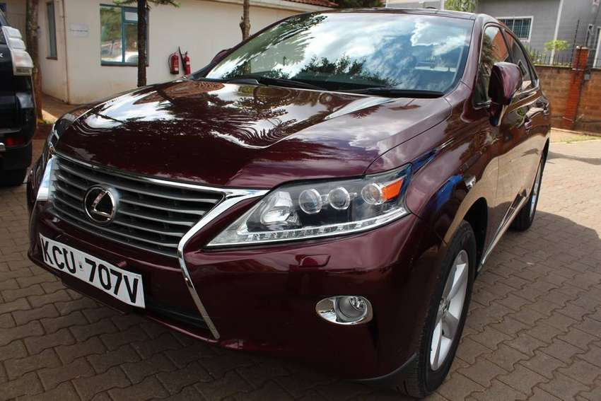 LEXUS RX270 NEGOTIABLE 2012 0