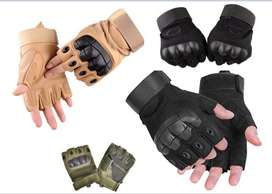 Brand New Tactical Hard Knuckle Military Rubber Gloves