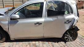 NISSAN MICRA 2013 STRIPING FOR SPARES