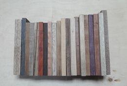 Zestaw deseczki drewno egzotyczne 20 gatunków
