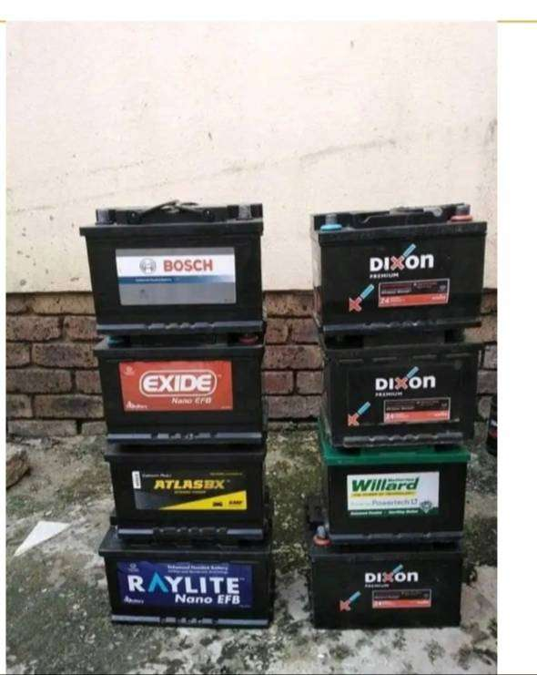 Reconditioned car batteries 0