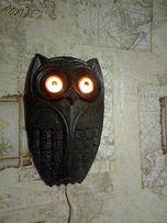 Светильник ночник бра ссср сова