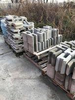 Łącznik betonowy H DRUGA KLASA, panel, siatka, podmurówka