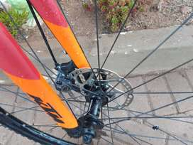 KTM Gravil Xonic 2019 Bike, new Tyres, with Spare,
