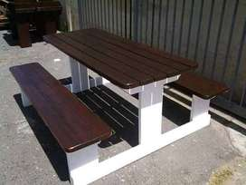 Hi guys im selling wooden benches