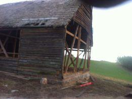 Skup starego drewna desek stodoła stary dom bezpłatna rozbiórka