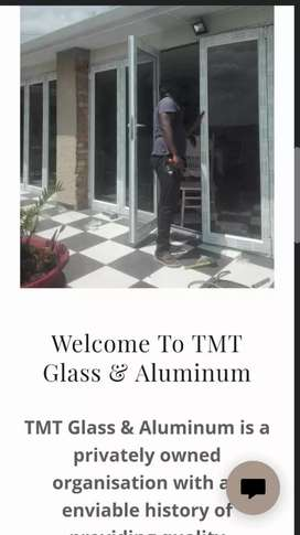 Talent glass and aluminum Windows and doors