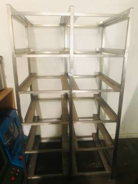 Double Bain Marie Dish Stand