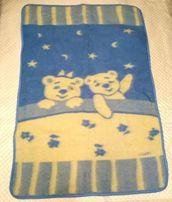 Детское теплое шерстянное одеяло - 100 % шерсть