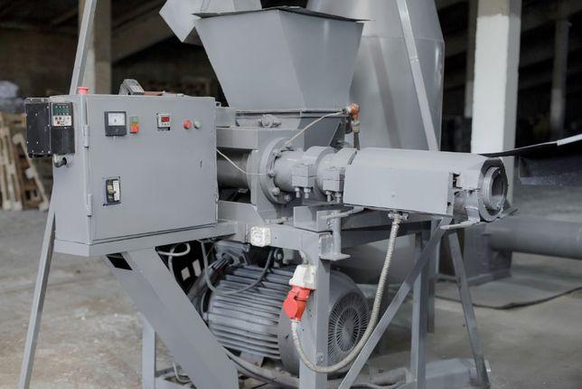 Оборудование, пресс для производства топливных брикетов