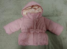 Продам куртку на девочку (демисезон) 9мес