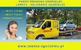 Laweta Zgorzelec, holowanie i pomoc drogowa Zgorzelec