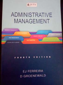 Administrative Management Fourth Edition Textbook
