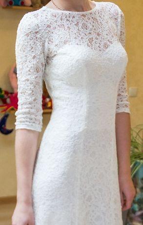 Продам авторське весільне плаття О. Мухи з мережива Луцк - изображение 3