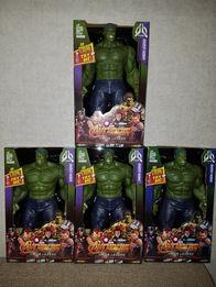 Супергерой, Марвел,/ Marvel/,Hulk,Халк,свет, звук, 30см!
