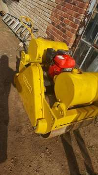 Image of Bomag walk behind roller for sale at discount price