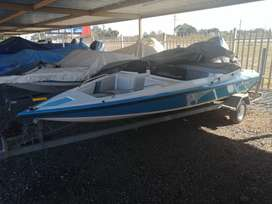 Scimitar 16ft with neat 115 Mariner