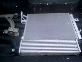 Ford Everest ac condensa and inter cooler