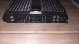 Starsound 4 channel amplifier and Targa 8 inch DVC subwoofer