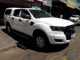 2017 FORD RANGER DOUBLE CAB/CANOPY