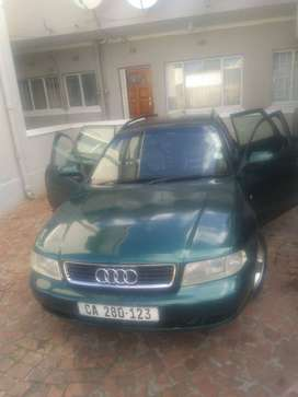 AUDI  A4 FOR SALE R28000 NEGOTIABLE  IN  VERY  GOOD CONDITION ALL PAPE