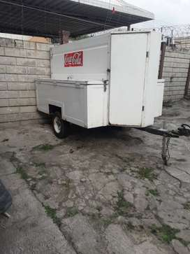 Fully loader trailer