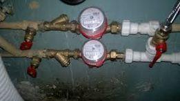 счетчики воды, установка, поверка, замена