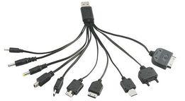 Универсальный USB кабель для зарядки телефонов, планшетов 10 в 1