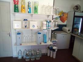 Purified water/ juices/ Biltong/ and appliances business
