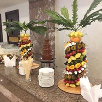 Шоколадный фонтан, фонтан для напитков, фруктовая пальма Одесса