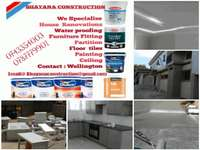 Image of Construction and maintenance. Affordable prize