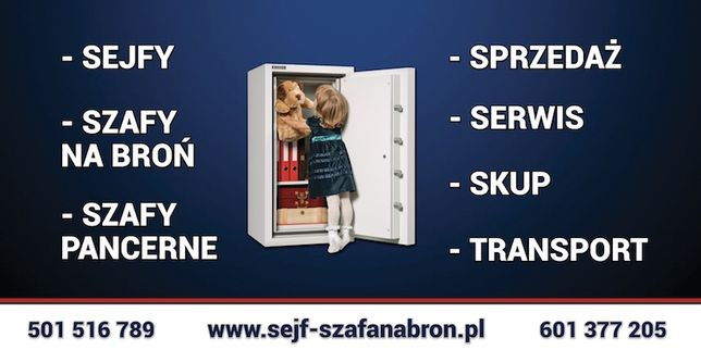 sejf , szafa na broń s1 , atest , duży wybór , faktura VAT Jabłonowo - image 2