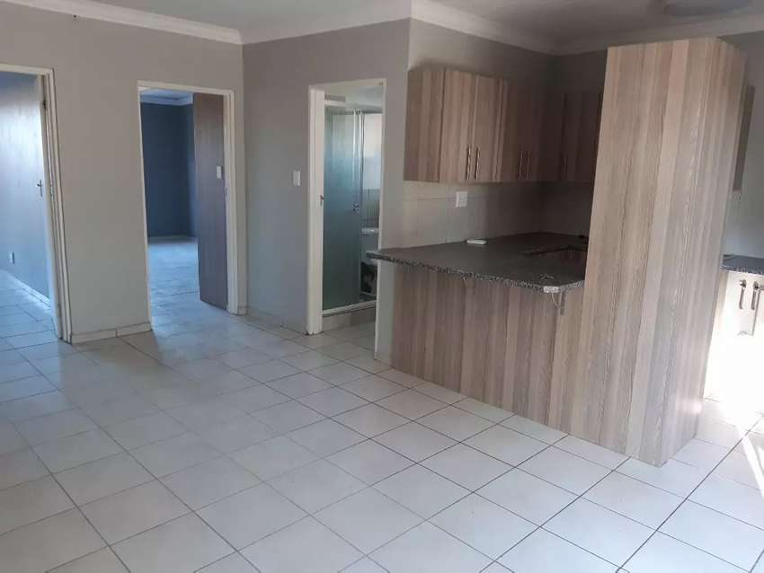 Two bedroom apartment to rent.