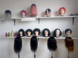 Brazilian Wigs with 3 way Closures