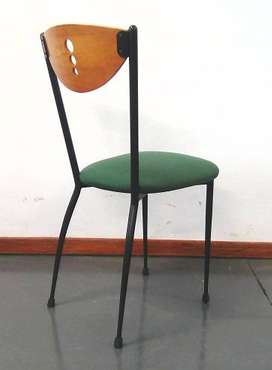 Canteen fabric visitor chair